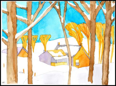 Winter House (after A.J. Casson)