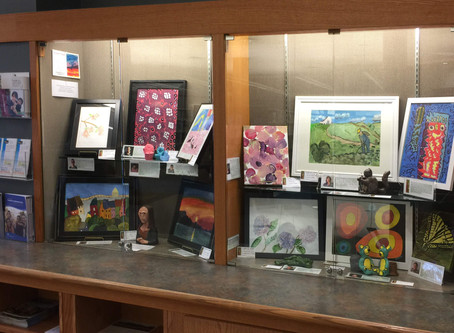 Vicuña's amazing art is on display at the Maple Ridge Public Library.