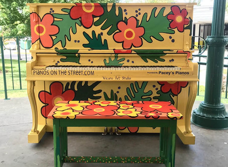 "2019 ""Pianos on the Street"" for Maple Ridge"