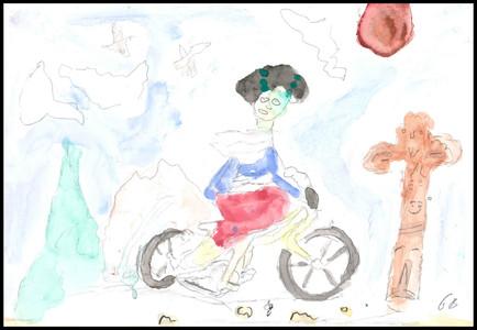 Girl on Bike 2017