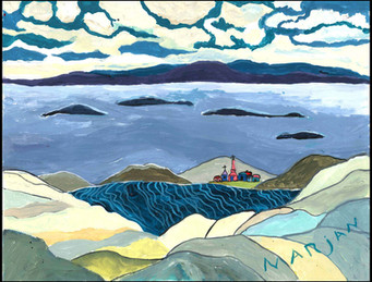 Bay of Islands (after F. Carmicheal)