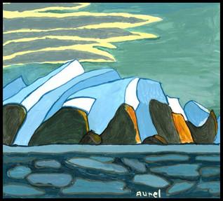 {NEW} Baffin Island 2018 (after Lawren Harris)