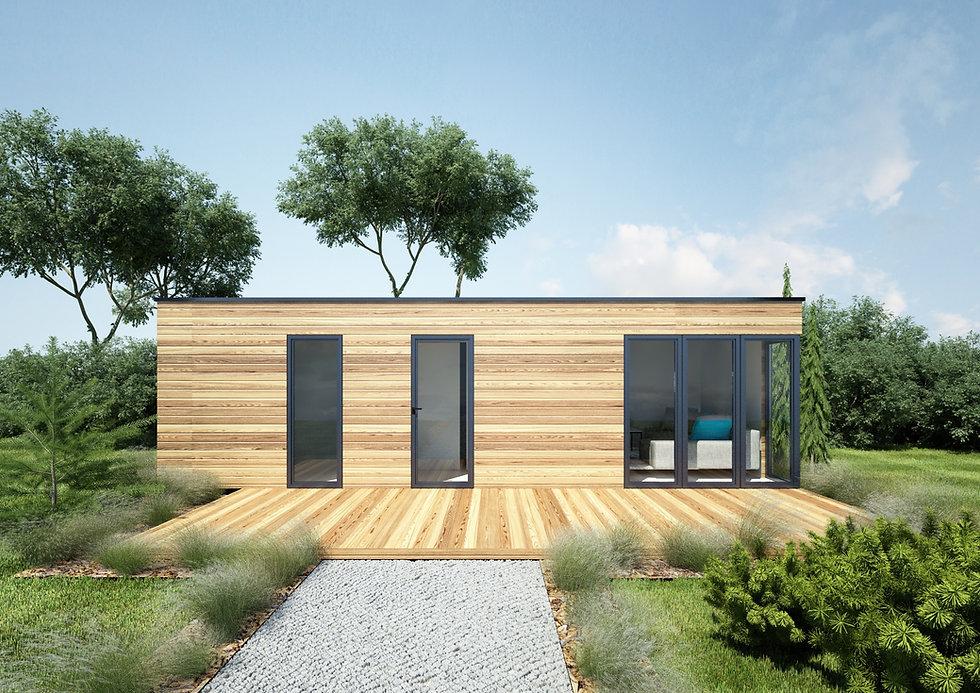 Woodenfactory Eco-lodge Model Cubicle