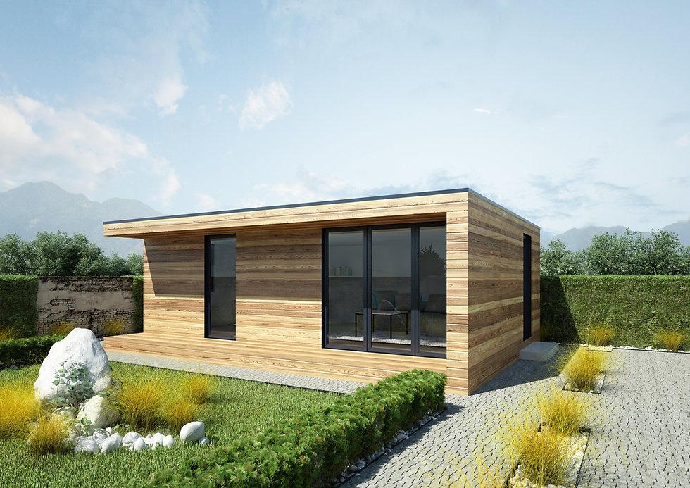 Woodenfactory Eco-lodge Model Bungalow