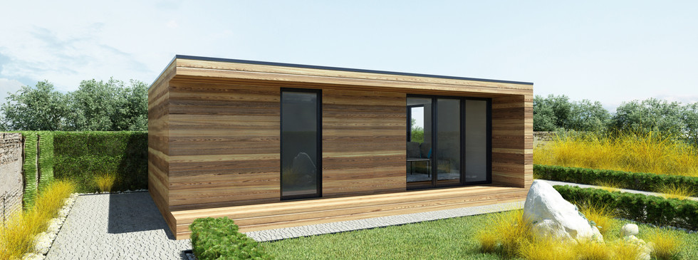 Woodenfactory Holzhaus Bungalow