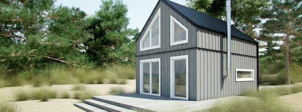 Woodenfactory Holzhaus Woodland
