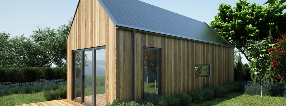 Woodenfactory Holzhaus Estate