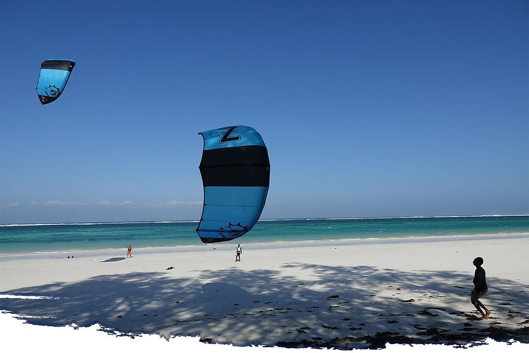 Kenya Kitesurfing School Bahari Dhow