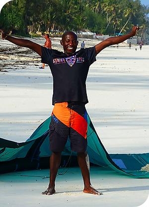 Kenya Kitesurfing School Bahari Dhow Rental