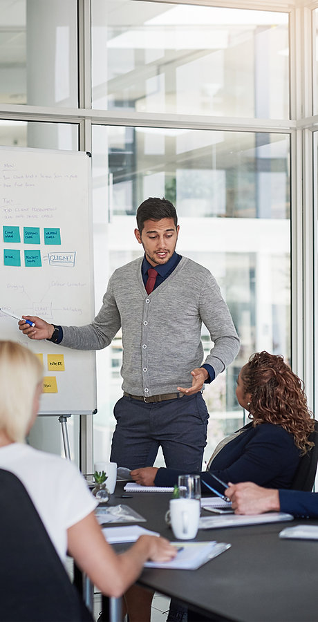 Het geven van een presentatie