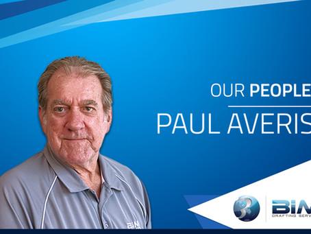 OUR PEOPLE: Paul Averis