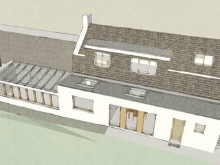 Farmhouse renovation and extension, Dumfries
