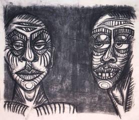 pair black an white