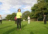 Cours de marche nordique au Pinsan à Eysines, activitée sportive, santé et bien-être