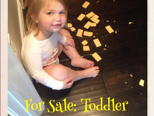 Why Writing While Raising a Toddler Stinks