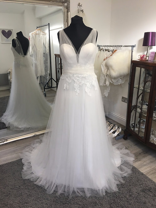 Beautiful by Enzoani - BT17-12 Front View