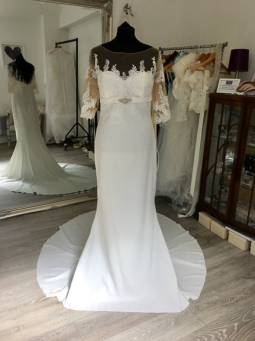 White One by Pronovias - Suni Front View