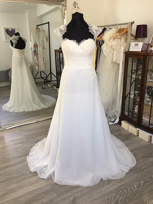 White One by Pronovias - Jabin Front View