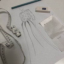 Sketching designs for a bespoke request