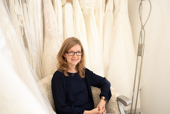 Katherine Edmond, owner Amelia George Bridal Boutique in Tring