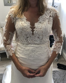 Taking in a dress all over to get the perfect fit