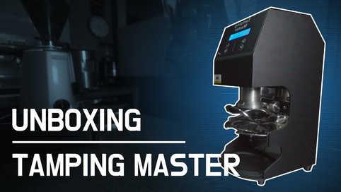 TAMPING MASTER | MANO 자동 템핑기계 템핑마스터 마노~ 들어는 봤어?