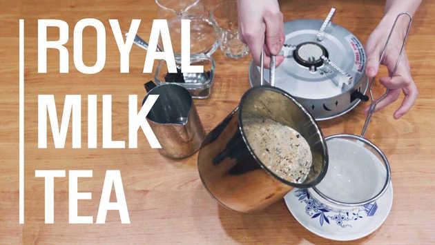 Royal Milk Tea / 로얄 밀크티 들어는 봤어?