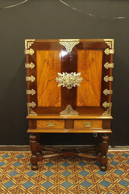 Antique Indonesian Cabinet on Stand