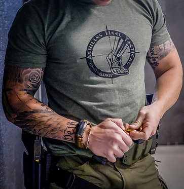Achilles Heel Tactical Logo T-shirt (2017) Edition
