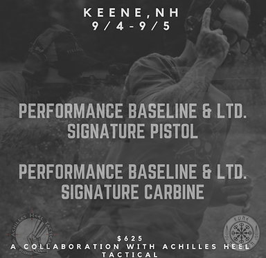 Performance Baseline & Limited Signature Course with Runenation