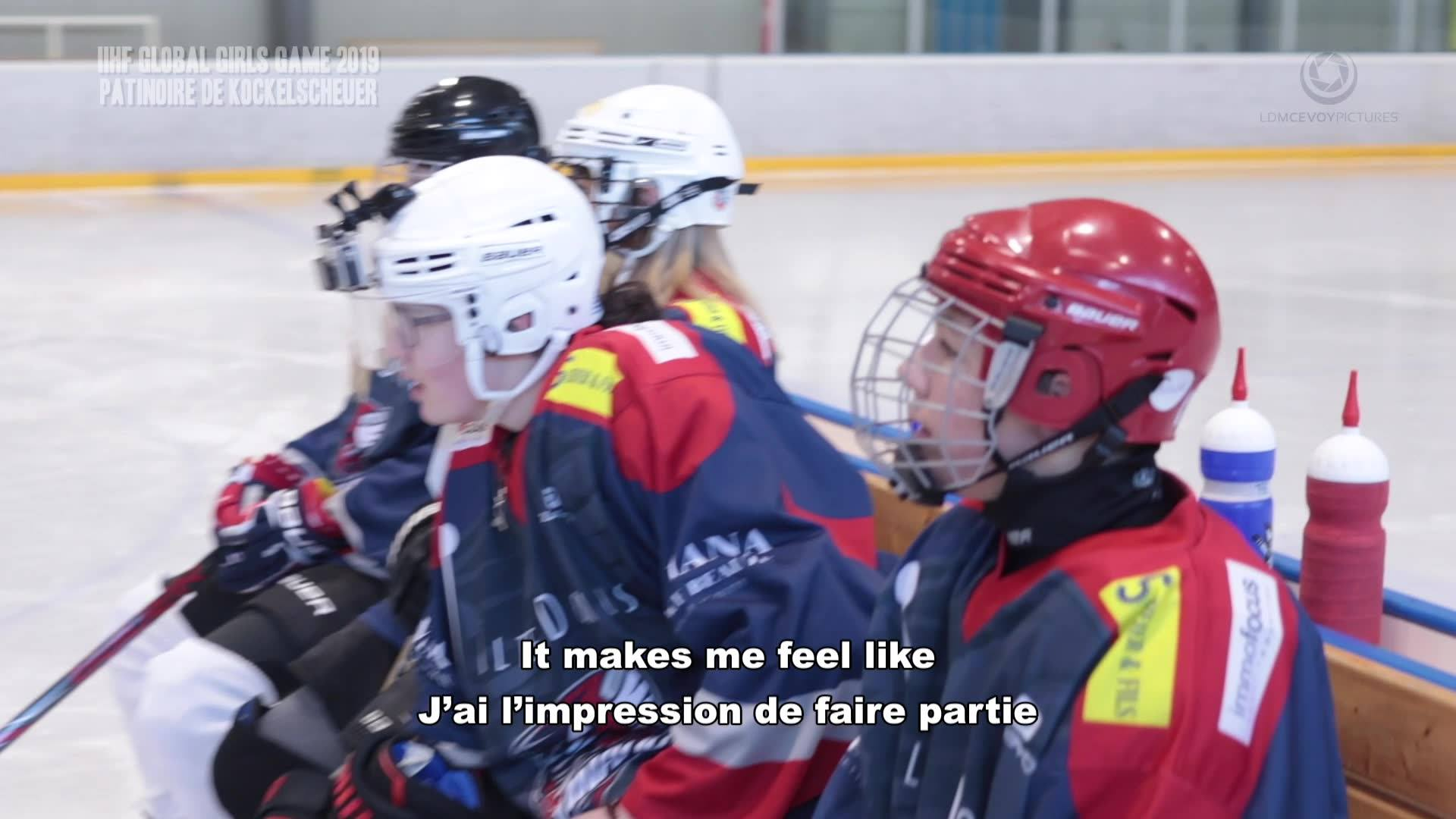 1st Ever Luxembourg Girls' Game