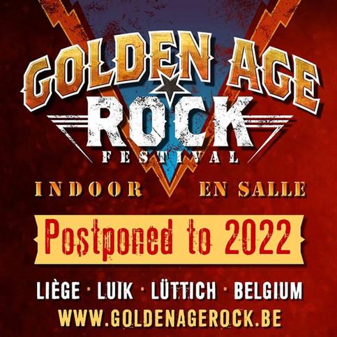 Golden Age of Rock Festival Postponed to 2022