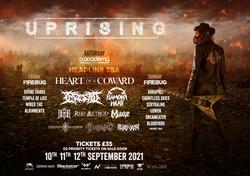 Uprising festival, Leicester - 2021 MAST