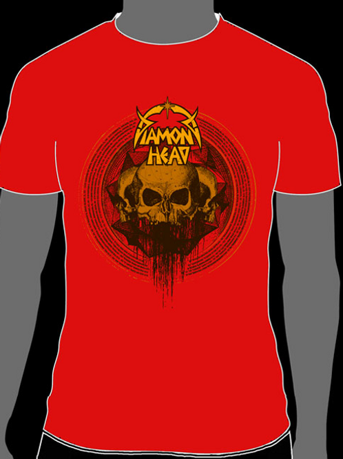 Red Skulls Logo Shirt