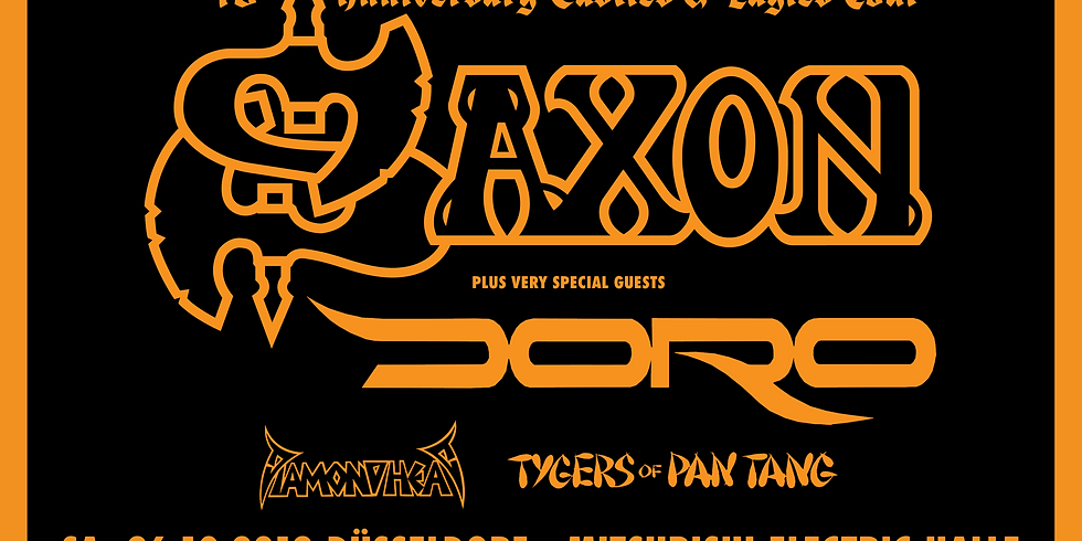 Special guest on Saxon 40th Anniversary tour