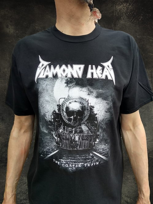 Monochrome Coffin Train T Shirt