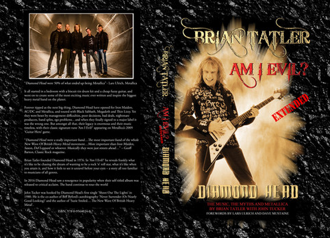 Limited Hardback 2nd Edition of Brian's 2009 autobiography 'Am I Evil?' Pre-Orders Now Available