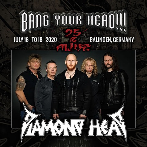 BANG YOUR HEAD 2020 - Confirmed!