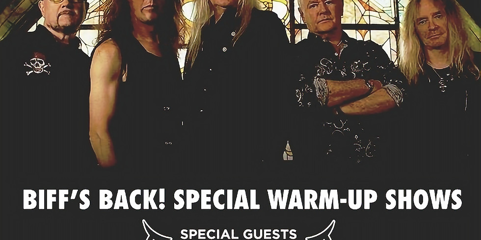 Diamond Head as special guest with Saxon at Trix, Antwerp