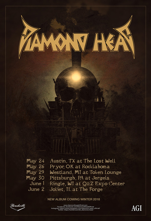 First 2018 US tour: Rocklahoma and more...