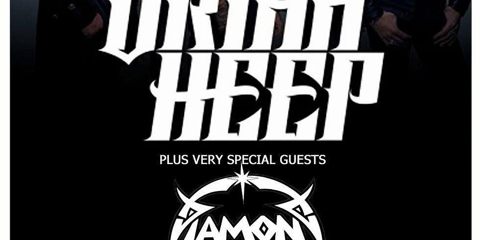 Diamond Head as special guest with Uriah Heep at KK's Steel Mill