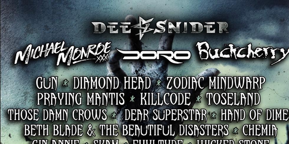 Hard Rock Hell 2019 November 7th-10th