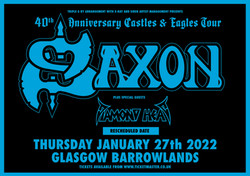 Saxon poster_Barrowlands