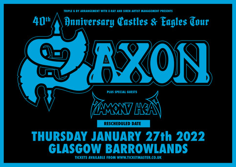 Diamond Head Special Guest at Barrowlands with Saxon UPDATE