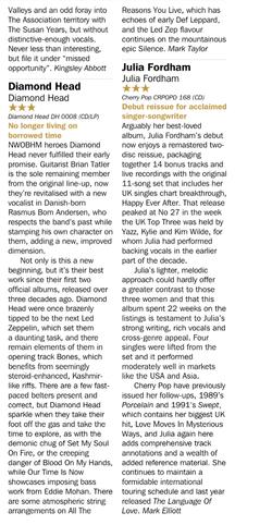 Record Collector - Diamond Head 2016 Review
