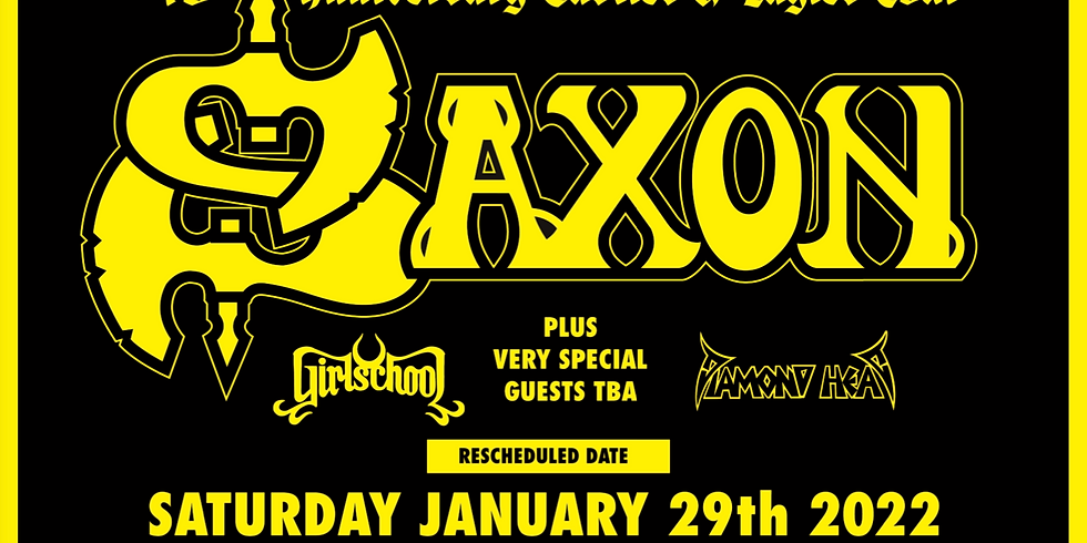 Diamond Head as special guests at the London Apollo with Saxon