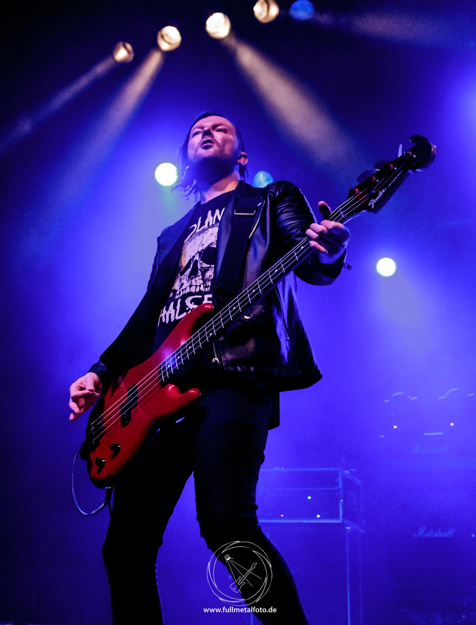 Saxon Tour 2018, Frankfurt, Full Metal Foto 1