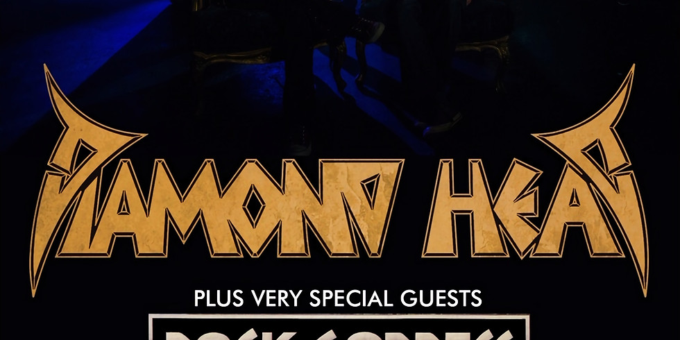 Diamond Head at The Welly w. special guest Rock Goddess