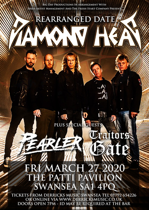 Diamond Head announce rescheduled dates