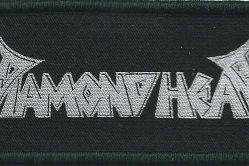 Black & silver Diamond Head logo patch